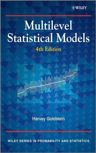 9780470748657: Multilevel Statistical Models