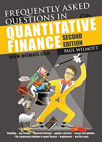 9780470748756: Frequently Asked Questions in Quantitative Finance