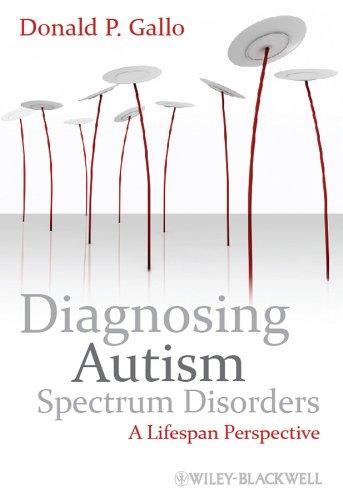 9780470749241: Diagnosing Autism Spectrum Disorders: A Lifespan Perspective