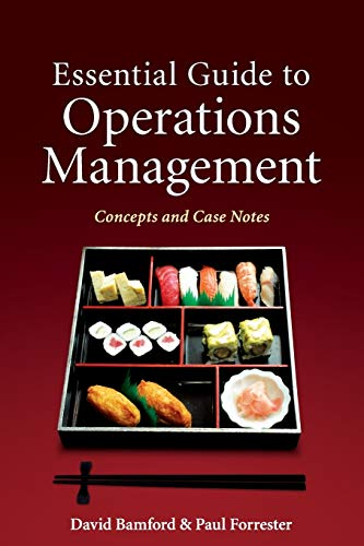 9780470749494: Essential Guide to Operations Management: Concepts and Case Notes (Wiley)