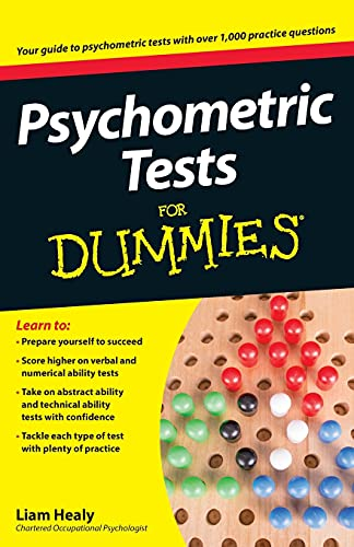 9780470753668: Psychometric Tests For Dummies