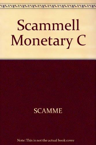 9780470756287: Scammell Monetary C