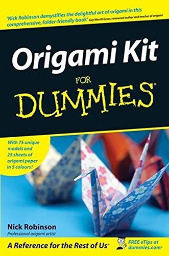 9780470758571: Origami Kit for Dummies [With 25 Sheets of Origami Paper in 5 Colours]
