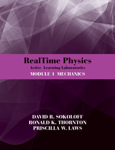 9780470768921: RealTime Physics Active Learning Laboratories, Module 1: Mechanics