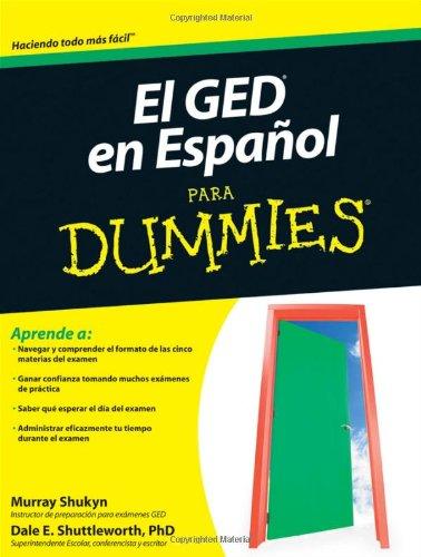 9780470769157: El GED en Espanol Para Dummies