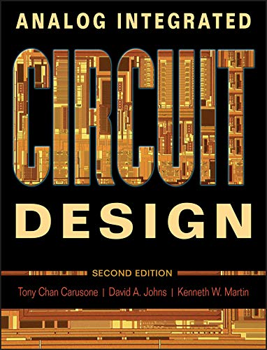 9780470770108: Analog Integrated Circuit Design