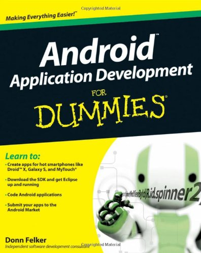9780470770184: Android Application Development for Dummies