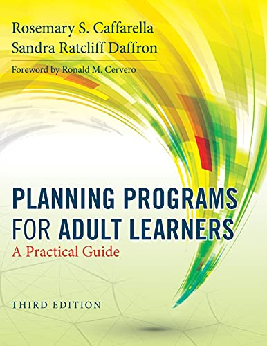 9780470770375: Planning Programs for Adult Learners: A Practical Guide