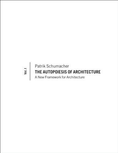 9780470772997: Autopoiesis of Architecture: A Conceptual Framework for Architecture: 1
