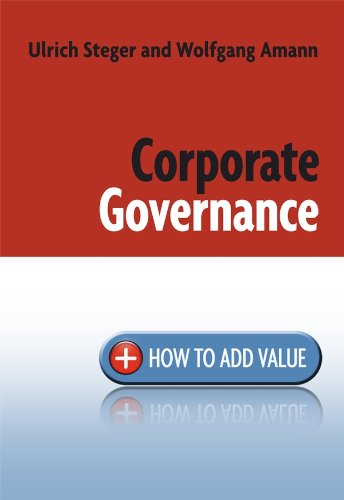 9780470773024: Corporate Governance: How to Add Value