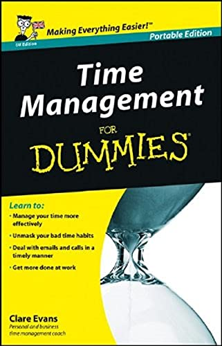 9780470777657: Time Management For Dummies - UK