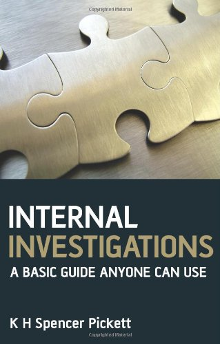 9780470779682: Internal Investigations: A Basic Guide Anyone Can Use