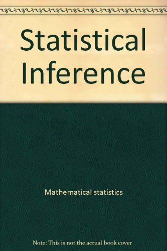 9780470791677: Statistical Inference (Monographs on Applied Probability and Statistics)