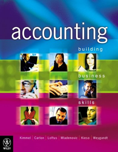 9780470800997: Accounting: Building Business Skills
