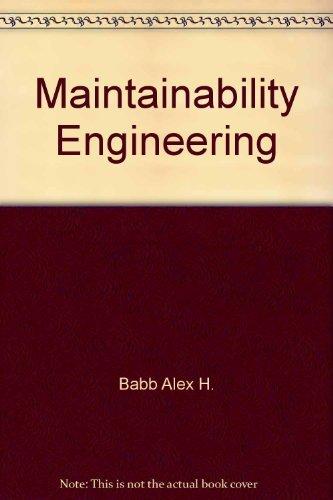 Maintainability engineering: Smith, David John