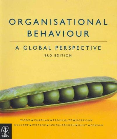 9780470802625: Organisational Behaviour: A Global Perspective