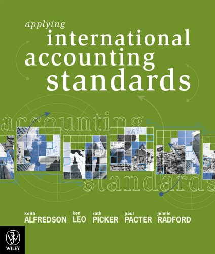 9780470804940: Applying International Accounting Standards