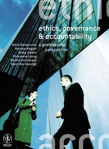 9780470804995: Ethics, Governance and Accountability: A Professional Perspective