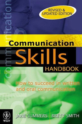 9780470805510: How to Succeed in Written and Oral Communication Skills Handbook
