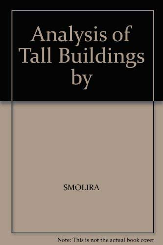 9780470806203: Analysis of Tall Buildings by