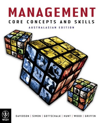 9780470807002: Management: Core Concepts and Skills