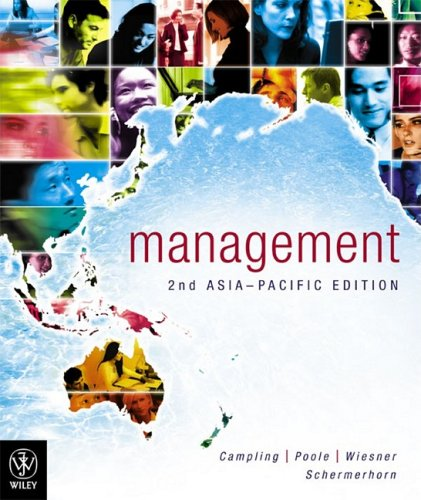 9780470807095: Management: An Asia Pacific Perspective