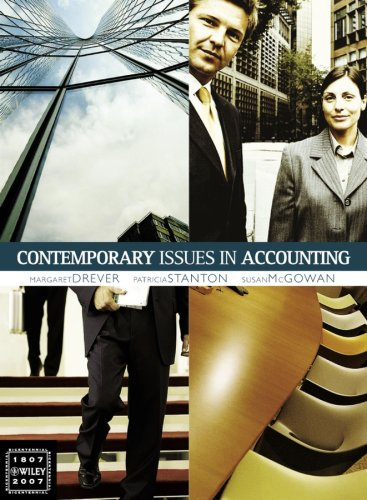 9780470807668: Contemporary Issues in Accounting