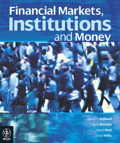 9780470808382: Financial Markets, Institutions and Money