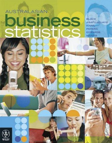 9780470809440: Australasian Business Statistics
