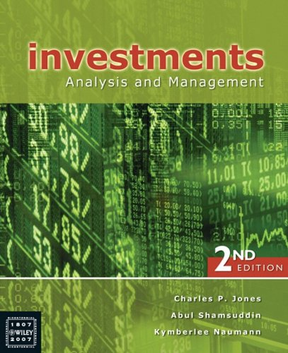 9780470810033: Investments: Analysis and Management