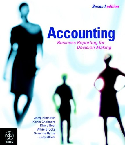 9780470810224: Accounting: Business Reporting for Decision Making