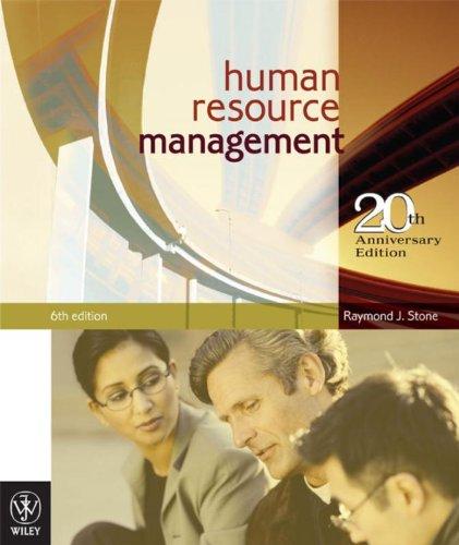 9780470810804: Human resource management