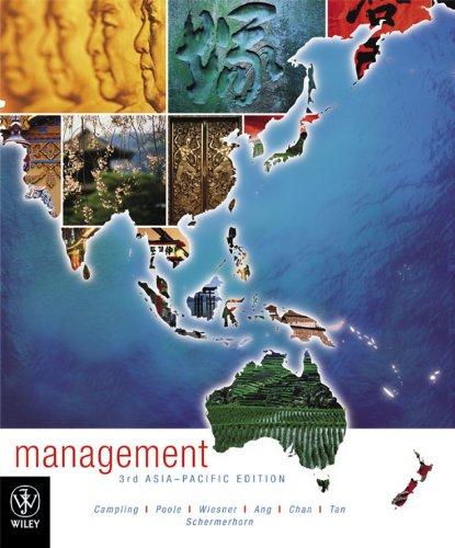 Management : Asia-Pacific Edition: Schermerhorn, John; Poole,