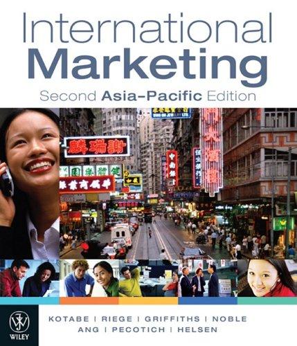 9780470814246: International Marketing