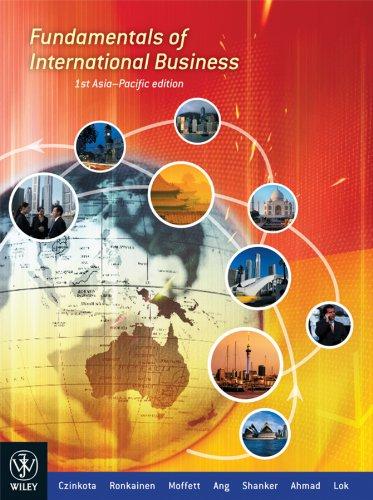 9780470814642: Fundamentals of International Business