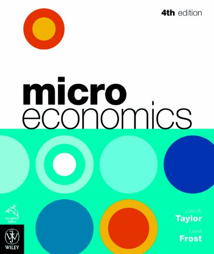 9780470817193: Microeconomics