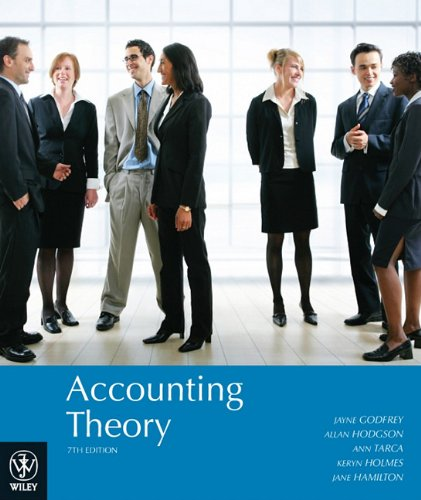 9780470818152: Accounting Theory