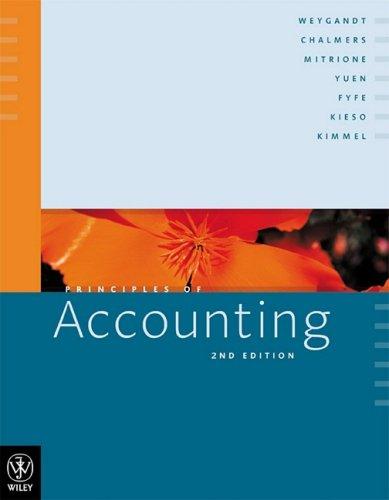 9780470819241: Principles of Accounting