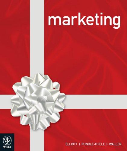 Marketing: Sharyn Rundle-Thiele; David