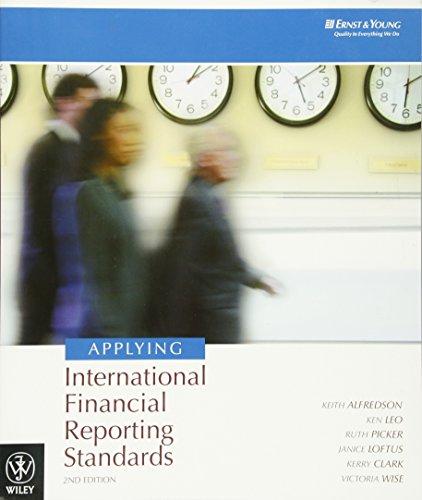 Applying International Financial Reporting Standards (Jacaranda): Alfredson, Keith and