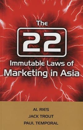 9780470821008: The 22 Immutable Laws of Marketing in Asia