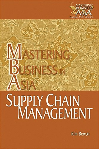 9780470821404: Supply Chain Management in the Mastering Business in Asia series