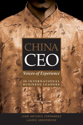 9780470821923: China CEO: Voices of Experience from 20 International Business Leaders