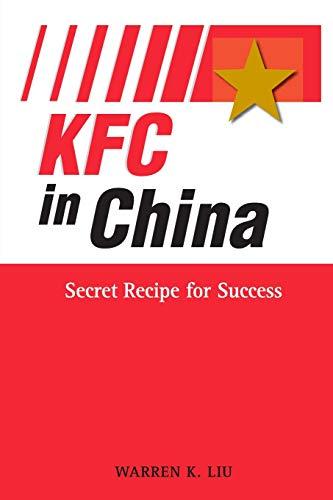 9780470823842: KFC in China: Secret Recipe for Success