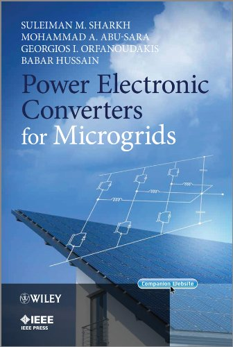 9780470824030: Power Electronic Converters for Microgrids (Wiley - IEEE)