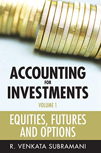 9780470824313: Accounting for Investments, Equities, Futures and Options (Volume 1)