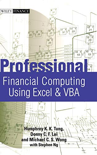 9780470824399: Professional Financial Computing Using Excel and VBA (Wiley Finance Series)