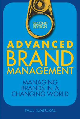 9780470824498: Advanced Brand Management: Managing Brands in a Changing World