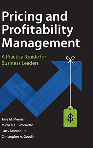 9780470825273: Pricing and Profitability Management: A Practical Guide for Business Leaders
