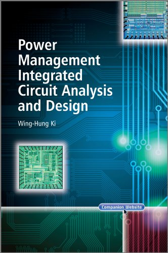9780470827772: Power Management Integrated Circuit Analysis and Design